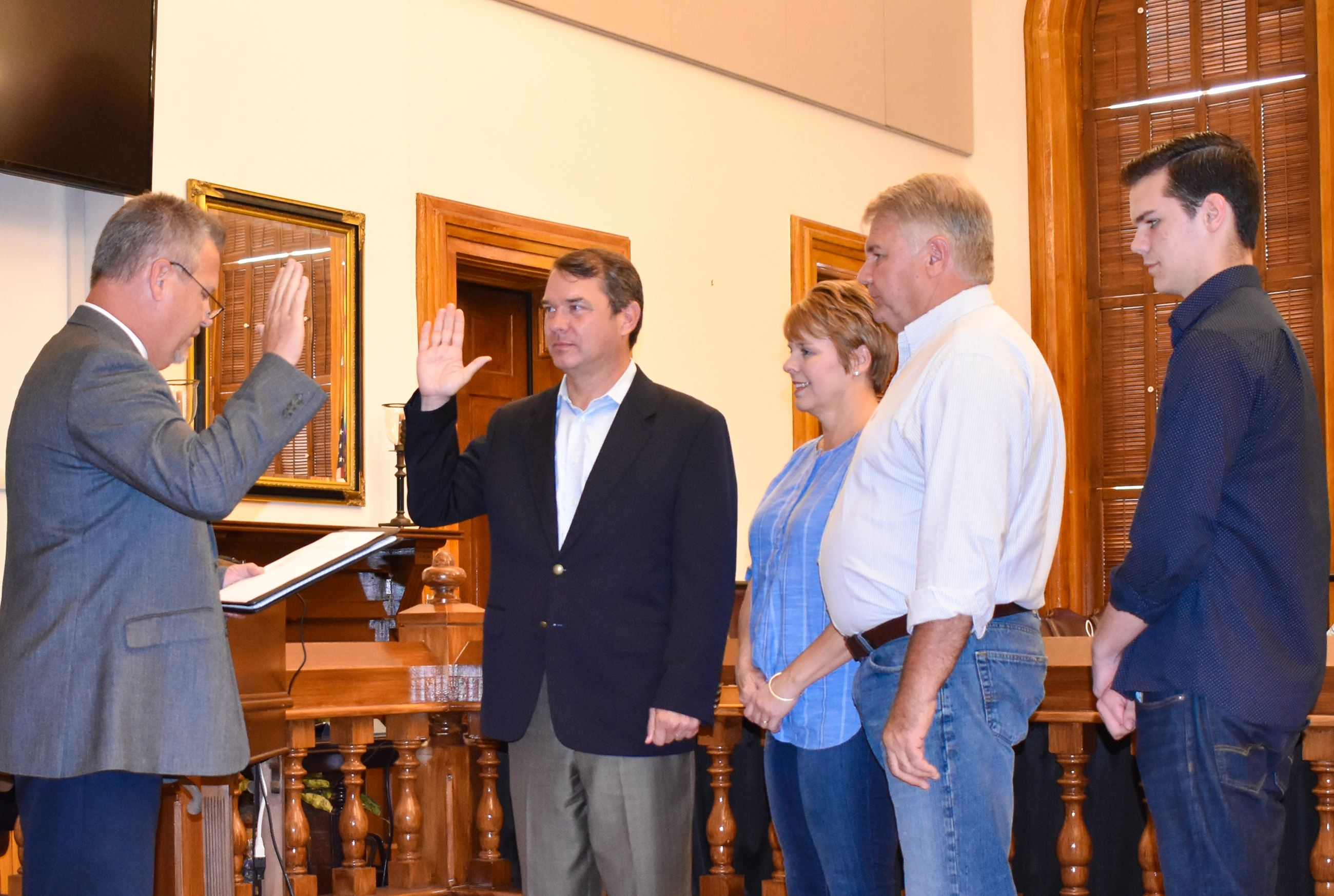 Bo Warren Swearing InJune 05, 2018