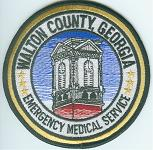 Walton County EMS patch